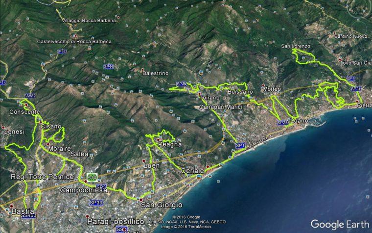 Percorso bici strada (SV): fiandre