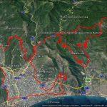 Percorso bici strada (SV): MARATONA  de NONSOLOTREKKING